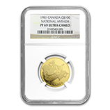 RCM Gold Modern Commems (NGC Certified)